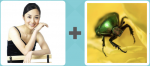 Girl Lady Woman Yoga Insect Bug