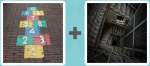 Level 296 Answer (Hopscotch Spiral Staircase)
