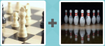 Pictoword level 97 - Chess Check King Bowling Pins
