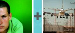 Pictoword Countries & Cities level 1 - Green Man Plane Fly Land