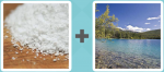 Pictoword Countries & Cities level 18 - Salt Flour Lake Pond Water Beach