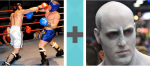 Pictoword Games level 21 - Boxing Fight Hit Punch Man Kratos Voldemort