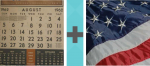 Pictoword Historical Figures level 10 - August Month Date Calendar USA Flag America Freedom