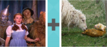 Pictoword Historical Figures level 19 - Dorothy Oz Sheep Lamb Newborn