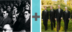 Pictoword Superheroes level 9 - Glasses Cinema Crowd Men Funeral Suits